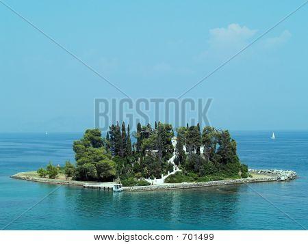 Mouse Island, Corfu, Greece