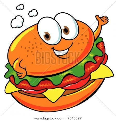 Happy Hamburger