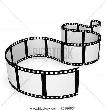Isolated Film Strip