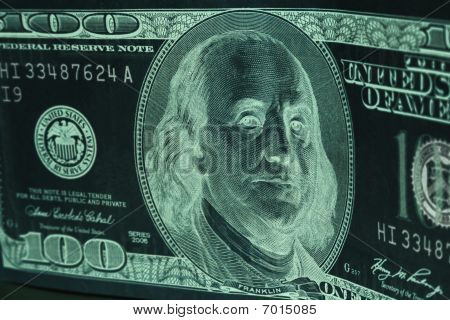 Negative 100 Dollar Bill