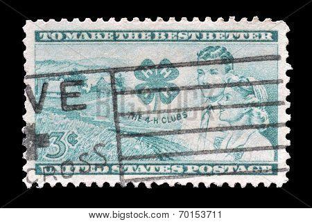 USA stamp 1952