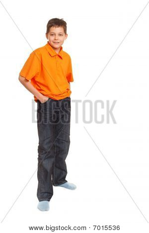 Full Length Boy Portrait