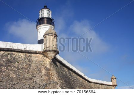 Lighthouse walls