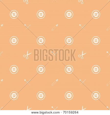 Vector background for handmade tools