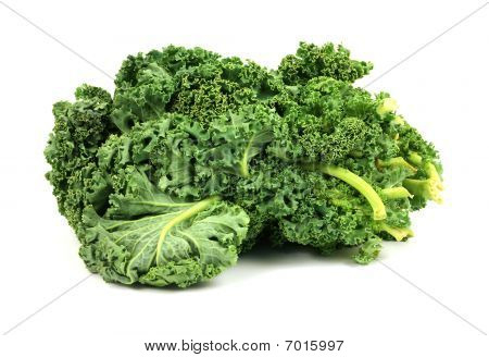 Kale On White