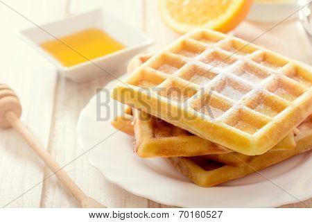 Sweet Belgium Waffles