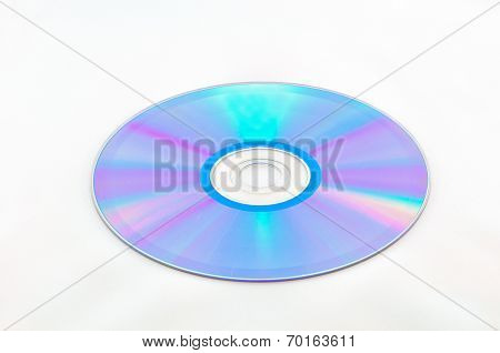 Cd Rom Isolated On White