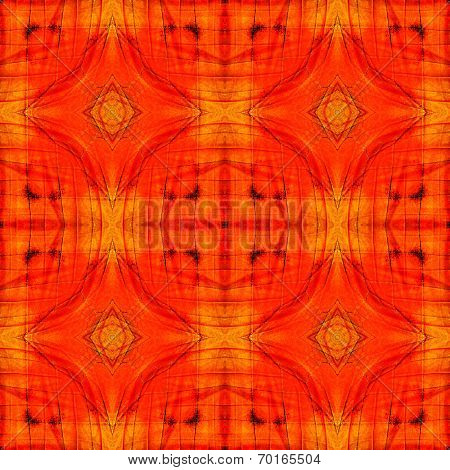 Nicel Seamless Orange Background Patterned By Orange Albatross Butterfly's Wing Skin