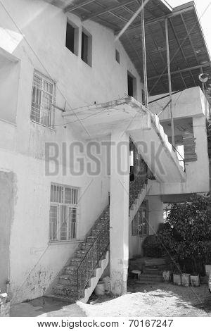 Old housing at Fethiye in Turkey
