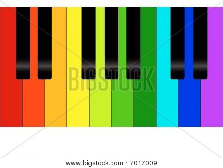 Colorful Piano