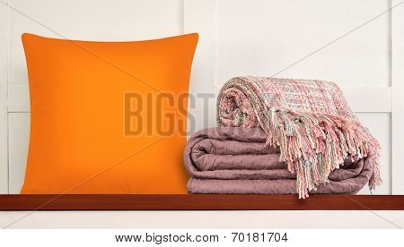 Bedding objects.