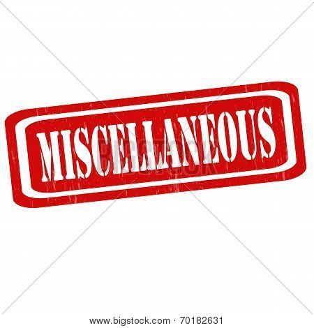 Miscellaneous-stamp