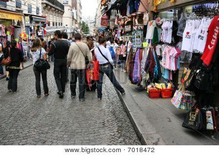 Shopping In Paris