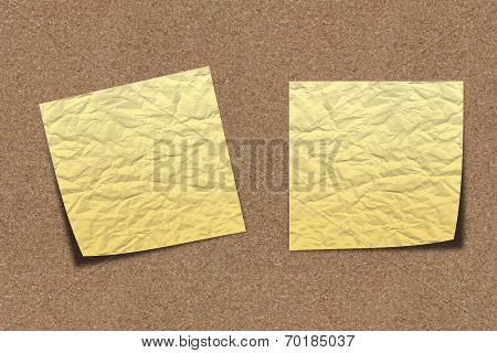 Scratchy Note Paper On Sand Board