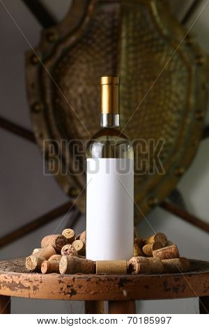 White Wine With Corks