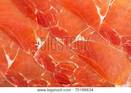 Spanish Jamon Iberico Sliced