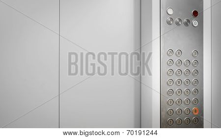 Elevator Internal Buttons