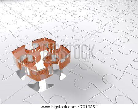 Transparent 3D Puzzle