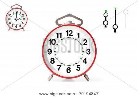 Red Alarm Clock