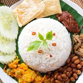 pic of malay  - Nasi lemak - JPG