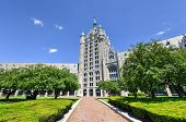 stock photo of suny  - The SUNY System Administration Building formerly the Delaware  - JPG