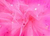 image of tutu  - close up of pink tutu filled backgroun
