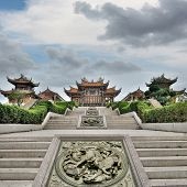 picture of taoism  - Chinese traditional temple - JPG