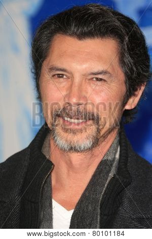 LOS ANGELES - NOV 19: Lou Diamond Phillips at the premiere of Walt Disney Animation Studios' 'Frozen' at the El Capitan Theater on November 19, 2013 in Los Angeles, CA
