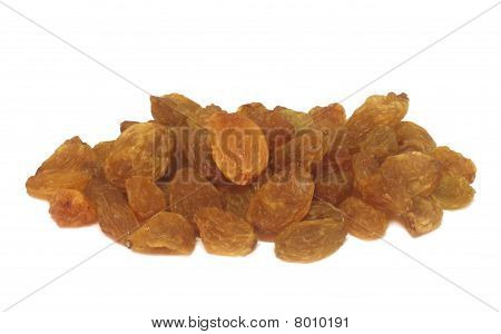 Pile of dried grapes