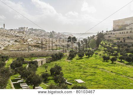 Kidron Valley. Jerusalem