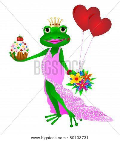 Happy Birthday Frog