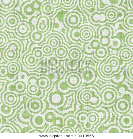 Green White Op Art Seamless