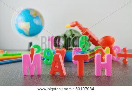 Study Math Conceptual Image
