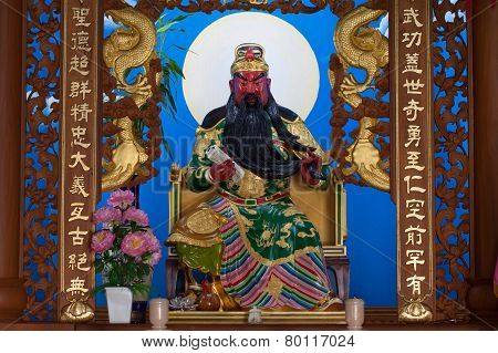 The God of wealth rich and prosperity chinese style