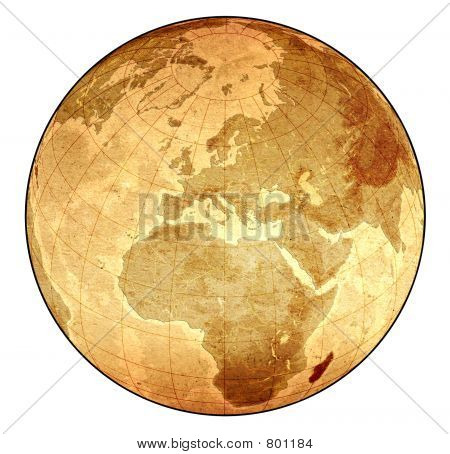 Detailed Old Globe