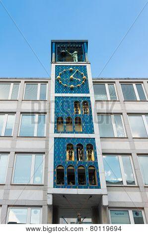 Art Nouveau Clock Tower