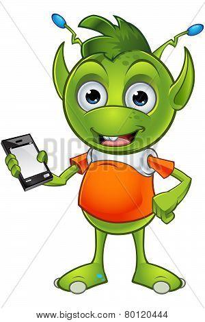 Pointy Eared Alien Character