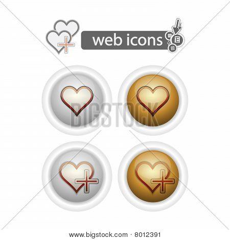 Round Web Icons-hart