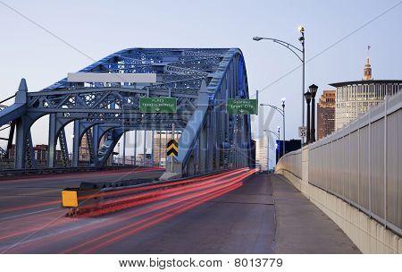 Traffic On The Bridge