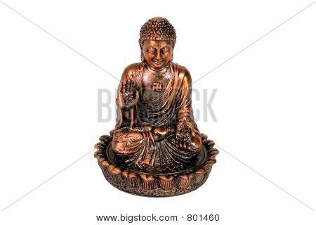 A statue of Sitting Buddha
