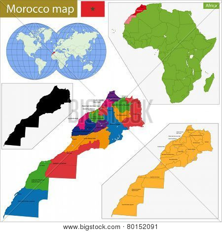 Administrative division of the Kingdom of Morocco