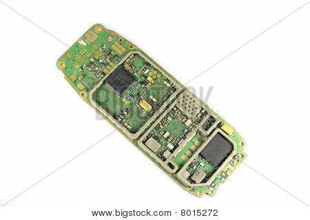 ruin mobile phone mainboard