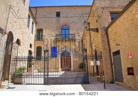 Bishop's Palace. Acerenza. Basilicata. Italy.