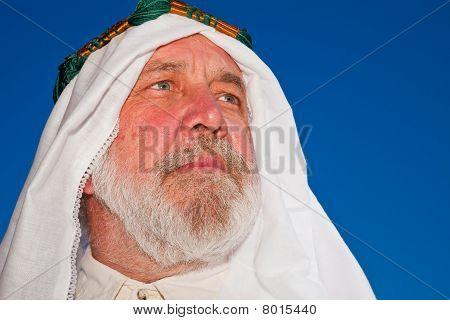 Arab Man Outdoor Portrait