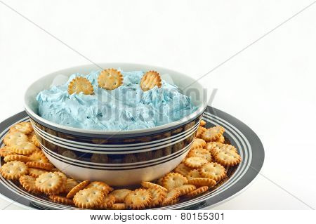 Sea Salt Caramel Dip With Mini Crackers