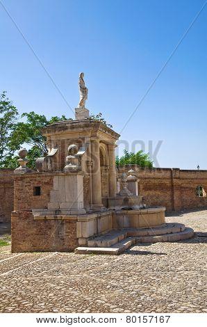 Fountain Cavallina. Genzano di Lucania. Southern Italy.