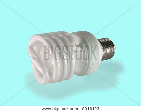 Economical Fluorescent Lamp.