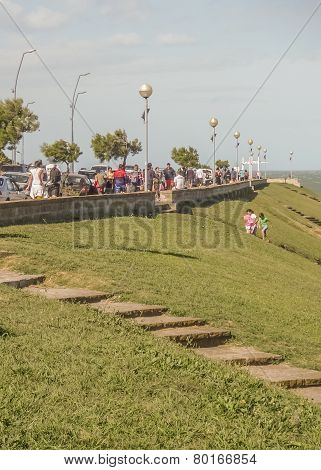 Mar Del Plata Boardwalk