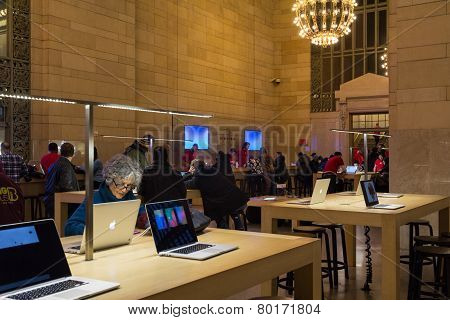 Apple Genius Bar Grand Central Station