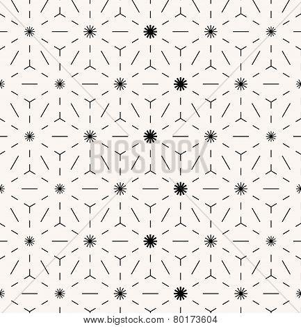 Abstract minimal seamless geometrical pattern